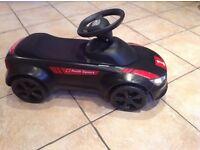 Audi scootalong kids car