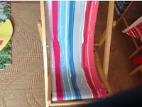 Children's deckchair