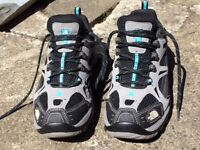 Genuine North Face Hedgehog GTX shoes, ladies size UK8. Perfect condition.
