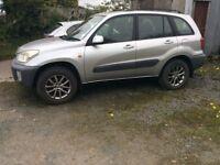 Toyota RAV4 2.0 vvti petrol one owner 80000 fsh ful mot mint we jeep drives well