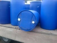 Clean Multiple use 205 L water barrel 45 gallon