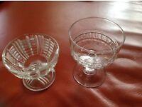 27 Glass Dessert Bowls