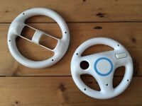 Wii steering wheels
