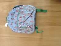 Cath Kidston Children's Football backpack Brand New with tags