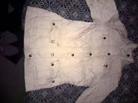 Womens Size 8 Barbour Jacket - LIMITED EDITION - CREAM