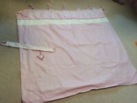 Girls next nursery curtains size 135 x 137
