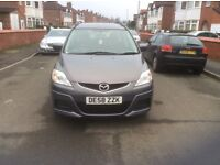 2009 Mazda 5 1.8 TS2 5dr estate petrol manual 7 seater low mileage full service history £2995