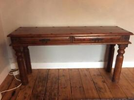 Beautiful Solid Wood Wall Table