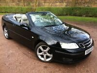 2005 05 SAAB 9-3 TURBO CONVERTIBLE **AUTOMATIC**FULL 12 MONTHS MOT** SERVICE HISTORY