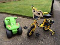 Bob the Builder bike & ride on car