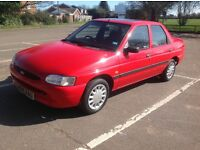 Ford Escort 1.6Lx , 35,000 miles, full 12 month mot, service history, a classic