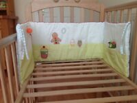 Mamas and papas cot bumper