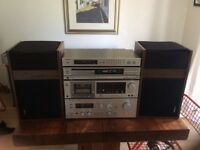 Technics Vintage HiFi system with Bose 301 speakers