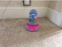 Peppa pig night light/torch with charger.