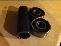 """Harley Davidson 3/4 wheel bearings plus 1""""spacer"""