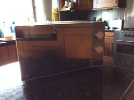 Mirrored microwave oven 700w by Sainsbury