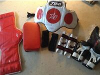 Tae Kwon Do equipment,ideal for beginner or instructor for club spares