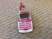Barbie interactive pocket electronic toy