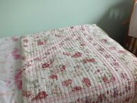 Single bed quilted omferter
