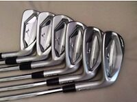Mizuno JPX 900 Forged Irons 5 – PW with Project X LZ 5.5 stiff flex shafts only used for 3 rounds
