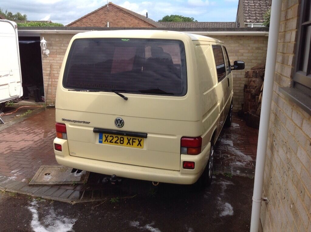 Vw T4 Van Part Conversion