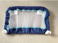 Childs blue bed guard - hardly used