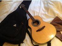 Santa Ana semi acoustic guitar