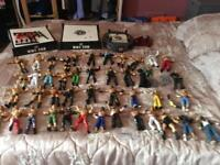 WWE WRESTLING FIGURES AND 3rings