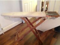 Seriously vintage ironing board!