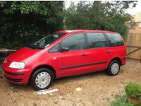 VW Sharan 2.0L 2001 7 seater - reduced!