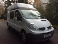 Renault traffic LH29 DCI MOTORHOME / CAMPER FSH 2008 BUY FOR £58 PER WEEK