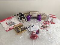 67 x Christmas Gift Bags and Various Decorations