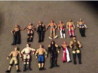 WWE elimination chamber plus figures