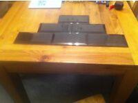 Black gloss tiles 309 in total