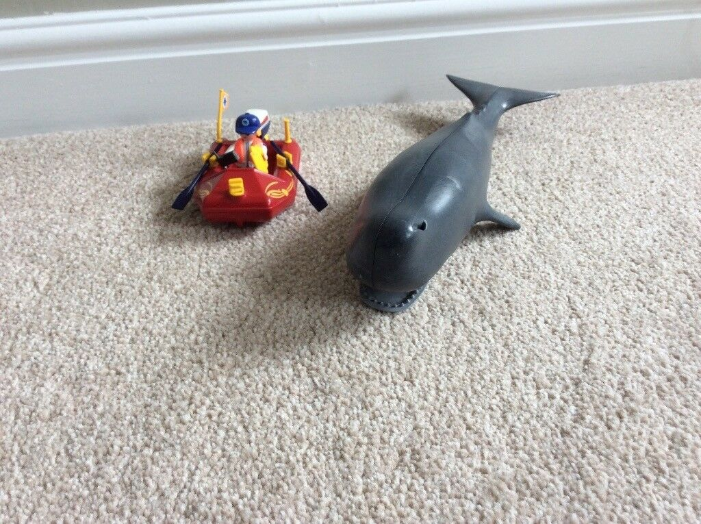 PLAYMOBIL BOAT & WHALE