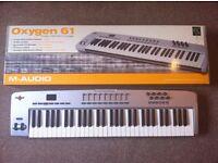 M Audio Oxygen 61 key Midi Keyboard / Controller