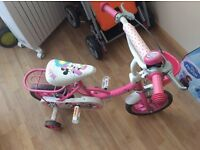 Kids Bike, Minnie Mouse Bike