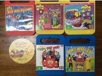 The Wiggles - DVDs x 6