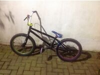 Custom BMX for sale with 2 extra rims *bargain*