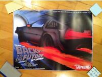 Rare! Back To The Future 30th Anniversary Poster From Film & Comic Con London