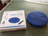 Home Physio Wobble Cushion. 35cm inflatable in original box with full instructions.