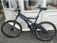 Marin rock springs full suspension mountain bike