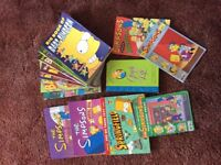 The Simpsons. A variety of 14 books
