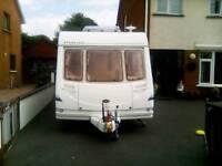 2004 Sterling Europa 406/2 berth caravan end washroom plus motor mover for sale Newcastle Co.Down