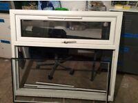 uPVC Window, 120cm wide x 105cm tall, 2 years old