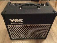 Vox valvetronix AD15VT guitar amplifier with many features