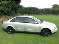 02 REG AUDI A4 1.9 TDI 4 DOOR 166k NEW CLUTCH & FLY WHEEL + CAM BELT MOT AUG 2017 HPI CLEAR VGC