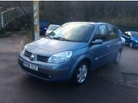 Renault Scenic Megane, Petrol, Manual, Very Low Mileage (71k), Excellent Family Car, Very Clean