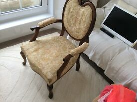 Antique Georgian chair very old