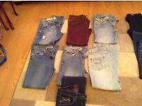 7pair ladies jeans